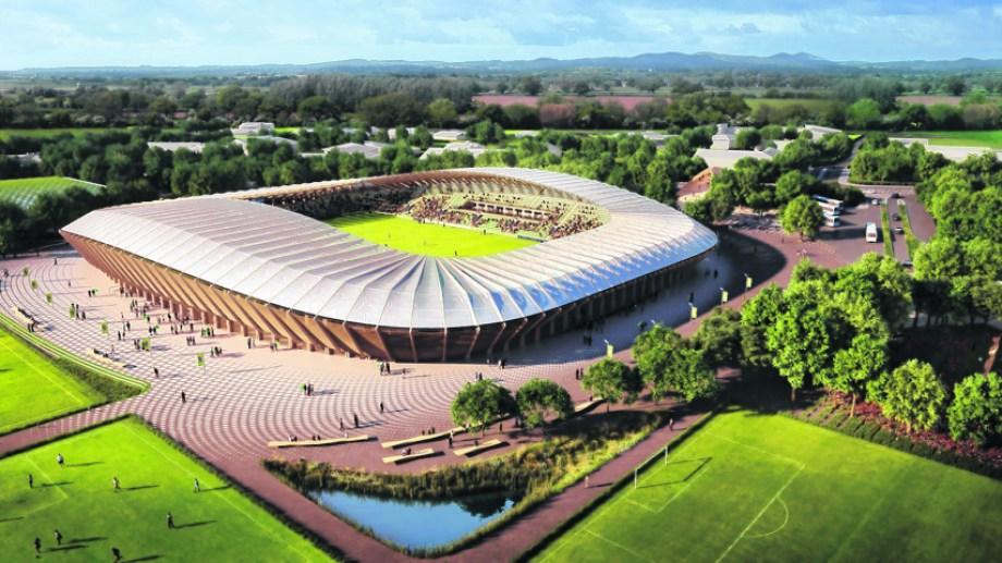 El complejo será construido íntegramente con madera y utilizará energías renovables.
