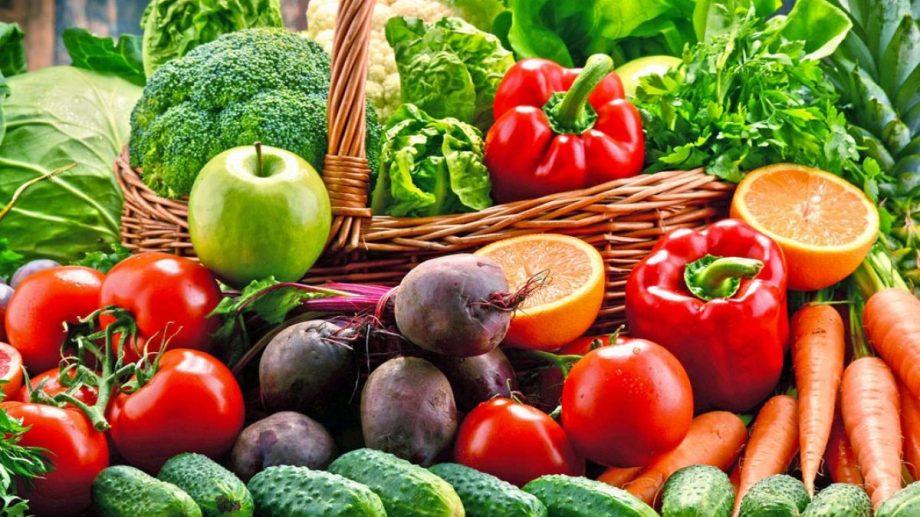 Las frutas y verduras aportan, entre otras cosas, gran cantidad de vitaminas importantes para el sistema inmunológio. Foto: archivo