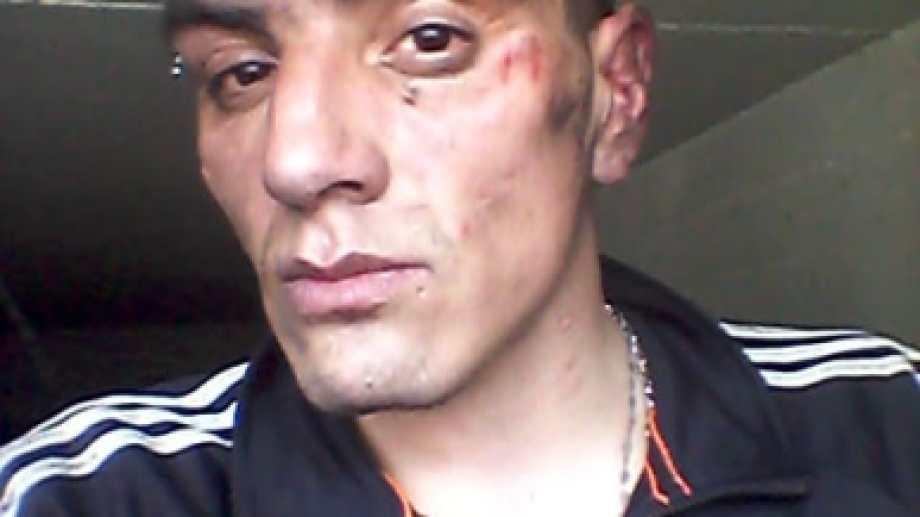 Uno de los internos sufrió heridas. Foto: gentileza