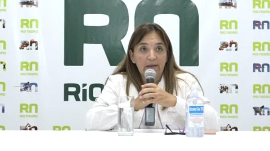 La secreteria de Políticas Públicas de Río Negro, Mercedes Iberó, confirmó al noveno fallecido.