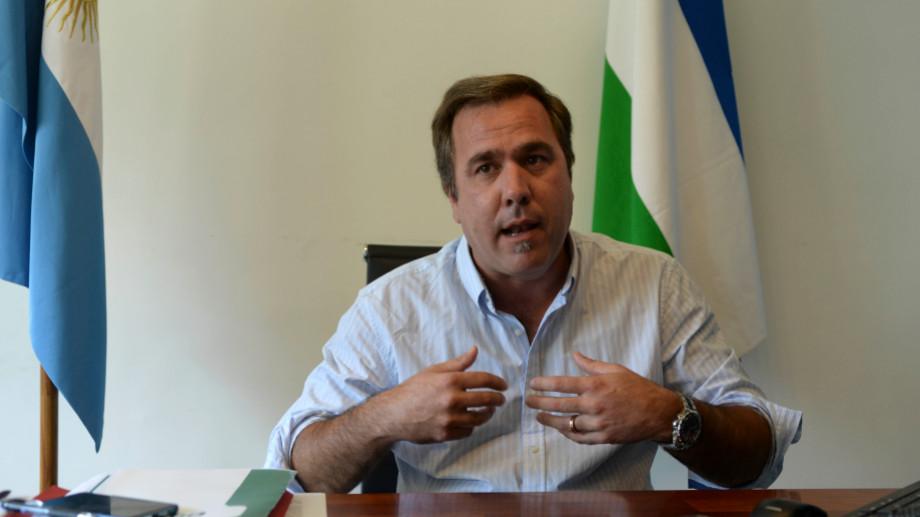 El intendente Bruno Pogliano regresó de Europa días atrás. Foto: archivo