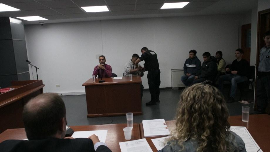 Huichaqueo fue imputado por el homicidio del joven Rolando Vera. Foto: Pablo Leguizamon