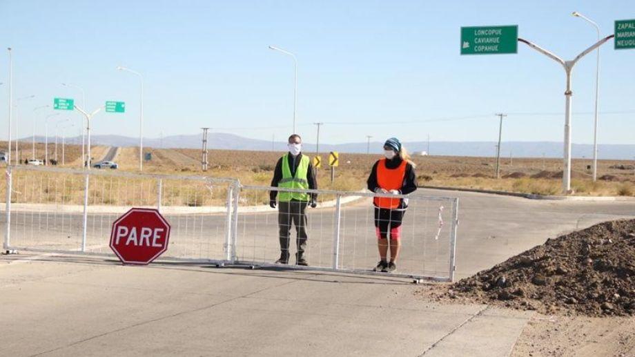 La mayoría de los accesos a la ciudad fueron cerrados de forma transitoria. Foto: archivo.