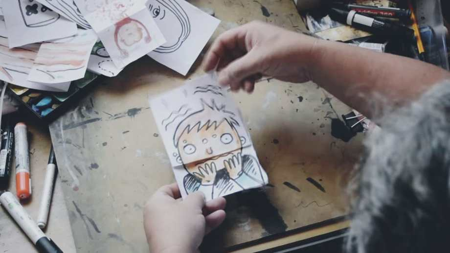 Uno de los dibujos con sorpresa que podés aprender a hacer con el Chelo Candia. Te lo explica paso a paso.
