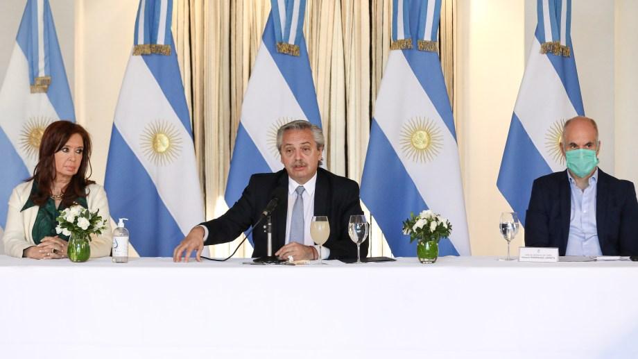 El gobierno de Alberto Fernández alcanzó un acuerdo con los bonistas por la deuda. Foto archivo.