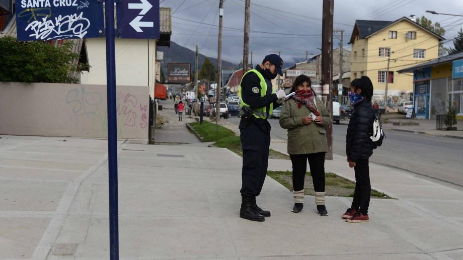 En Bariloche hubo hasta ahora 132 personas que contrajeron la enfermedad de las cuales 93 se recuperaron. (Foto archivo)