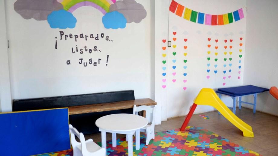 A diferencia de muchas escuelas primarias y secundarias privadas de Bariloche, estos jardines no tienen subvención. Foto: Alfredo Leiva