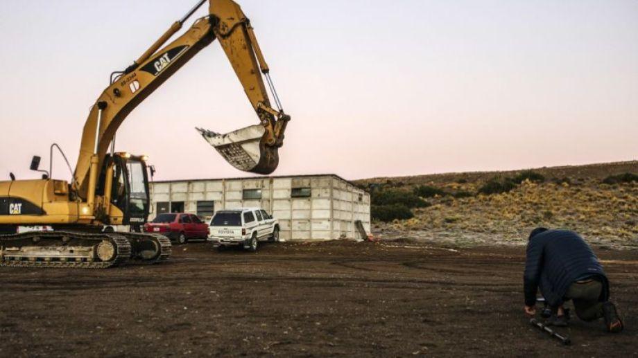 En el Parque Productivo de Bariloche el lunes retomarán obras de asfalto y se espera ahora el inicio de la red de gas. Archivo