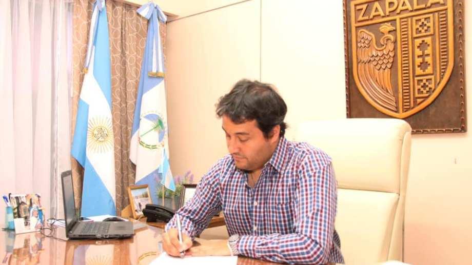 El intendente de Zapala, Carlos Koopmann (Archivo)