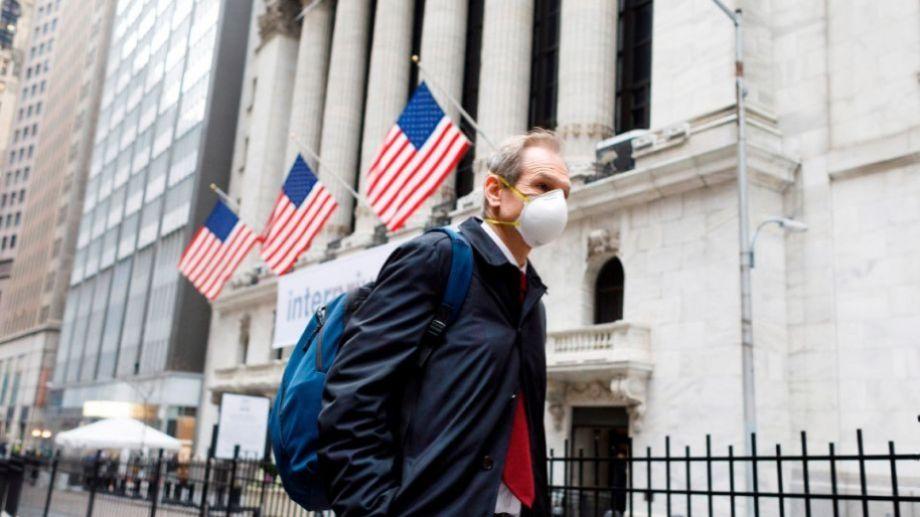 Así se vive en Estados Unidos el temor por la propagación del virus.-