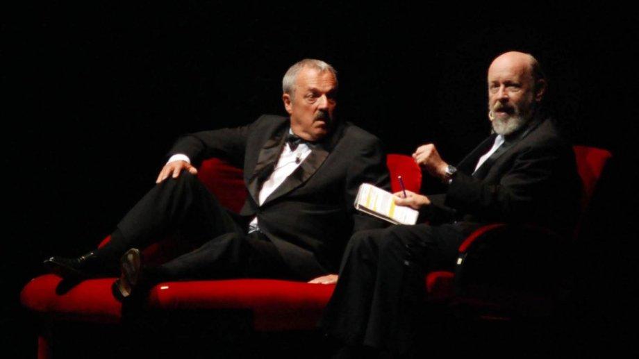 Marcos Mundstock, junto al también fallecido Daniel Rabinovich, en una dupla imbatible.