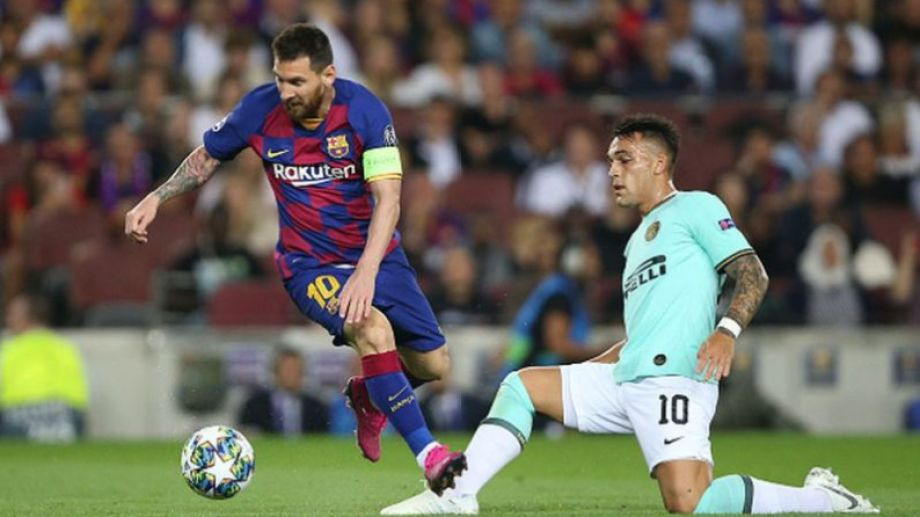Lautaro Martínez podría ser compañero de Lionel Messi en el Barsa la próxima temporada.