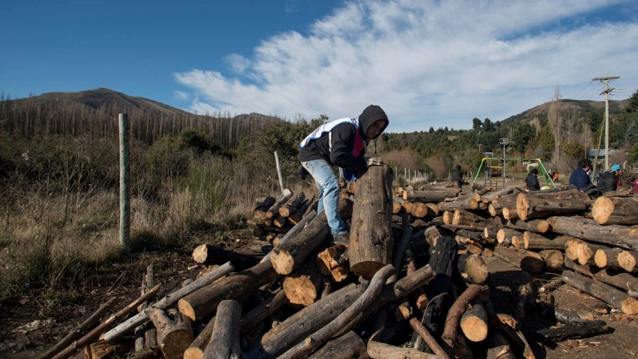 El objetivo de aprovechar los residuos forestales es apuntalar el plan Calor. Archivo