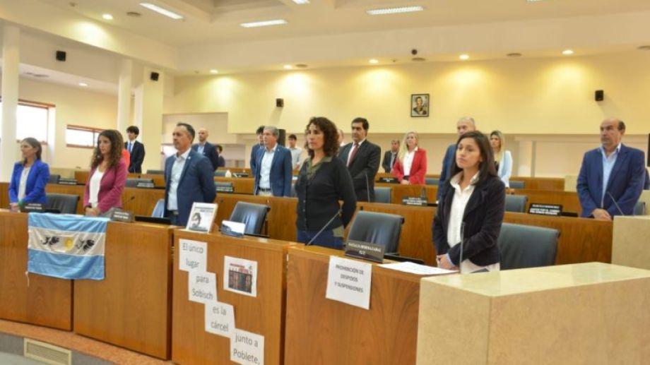 Los concejales de la ciudad de Neuquén aprobaron la adhesión a la ley de emergencia provincial Foto Yamil Regules