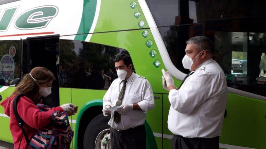 Entre 10 a 15 personas regresan a Neuquén por día. (Foto: Archivo Gentileza)