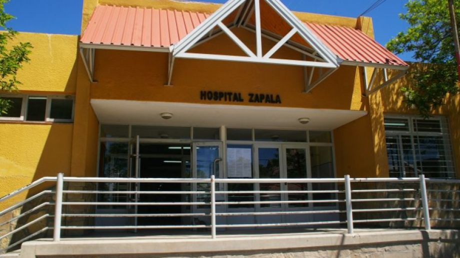El hombre estaba internado en el hospital de Zapala. Foto: Archivo
