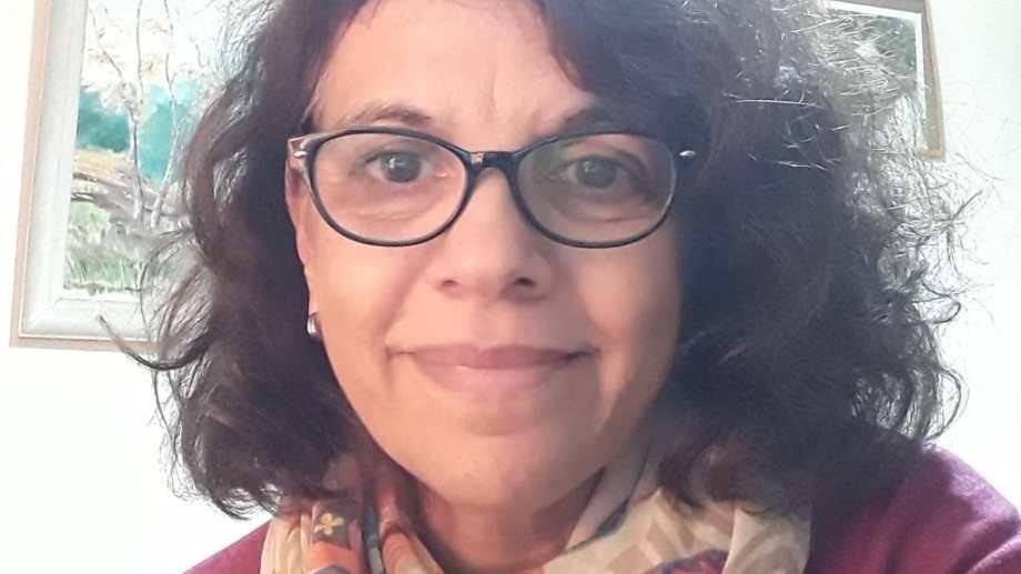 Claudia pide volver a Río Negro. Hace un mes está varada en Buenos Aires. Foto: gentileza.