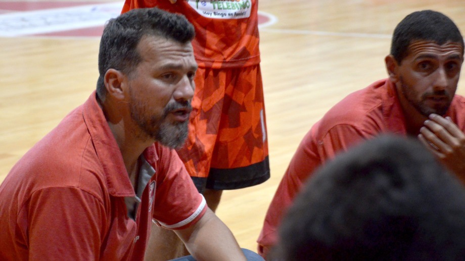 Marcelo Remolina, actual DT del Rojo.