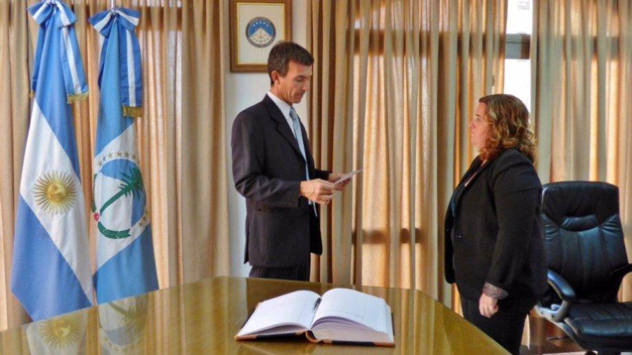 Alfredo Elosu Larumbe y Soledad Gennari, integrantes de la sala penal del TSJ de Neuquén. (Archivo)