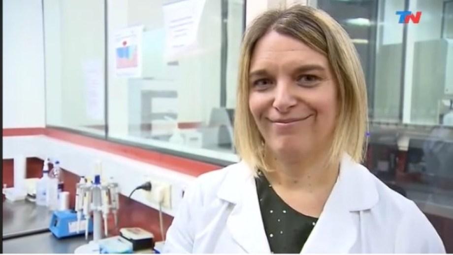 Josefina Campos es una de las investigadoras del Malbrán que logró secuenciar el virus que circula en nuestro país.