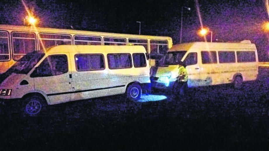 El jueves fueron secuestradas cuatro unidades.