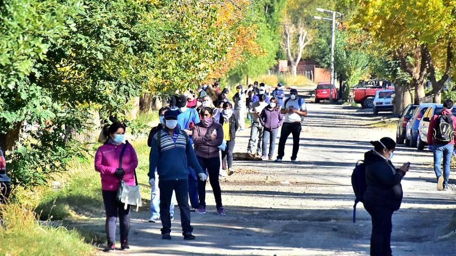 Se investiga el nexo epidemiológico en Loncopué. Foto gentileza.
