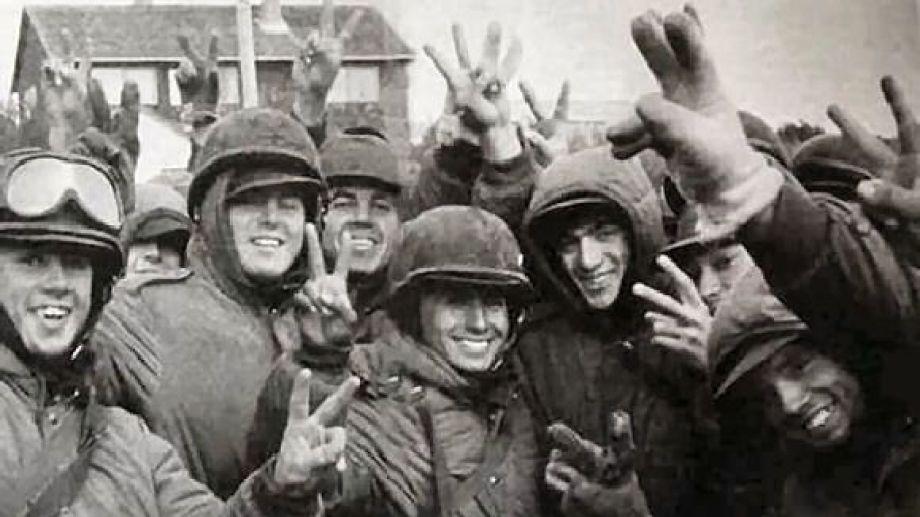 Malvinas. Se cumlen hoy 38 años del inicio de la guerra. Foto archivo.
