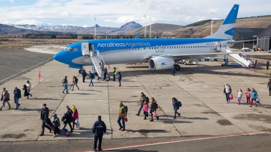 El aeropuerto de San Martín de los Andes retomará los servicios tras varios meses de inactividad. Foto  archivo Patricio Rodríguez