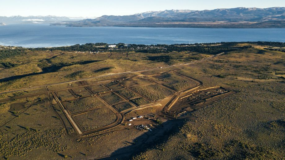 El parque productivo de Bariloche ya tiene un avanzado desarrollo. Archivo