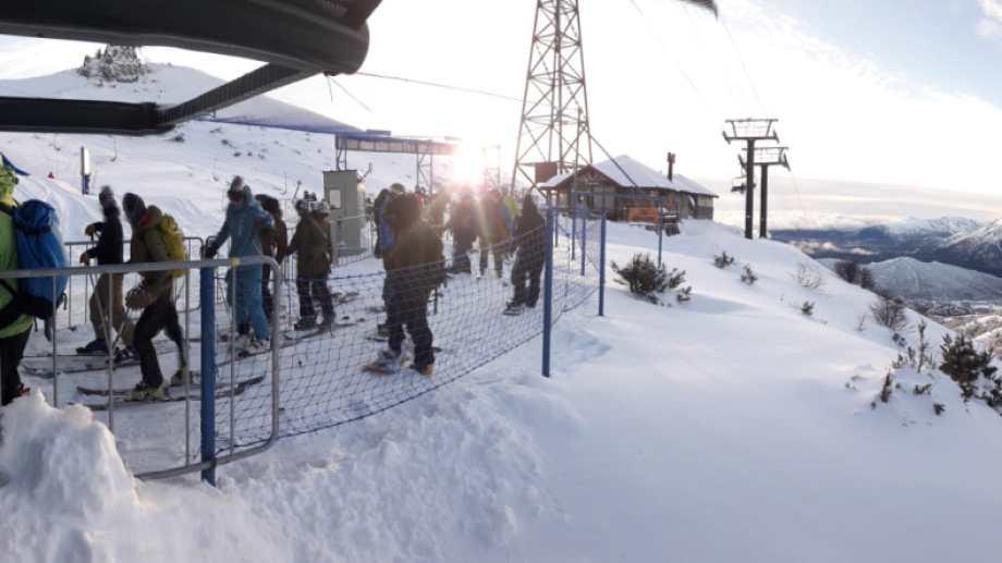El cerro mueve al turismo de invierno en Bariloche (Archivo)