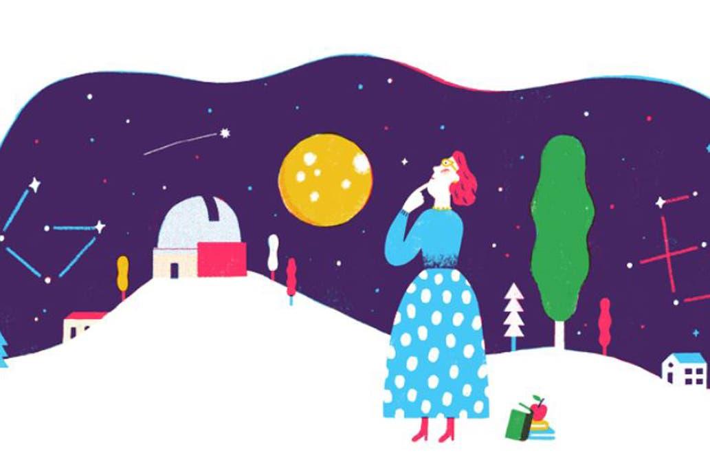 Google recordó a Adelina Gutiérrez, la científica que creía que el cielo no era el límite