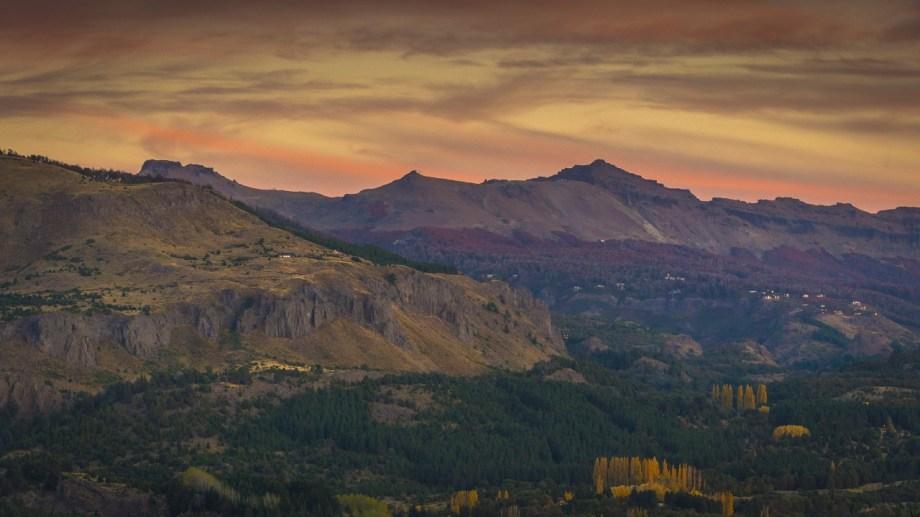 Vista del cerro Chapelco en el otoño de San Martín de los Andes. Foto: Patricio Rodríguez.