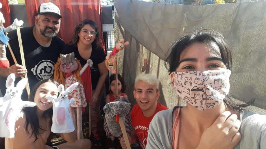 La familia Zunzunegui en acción