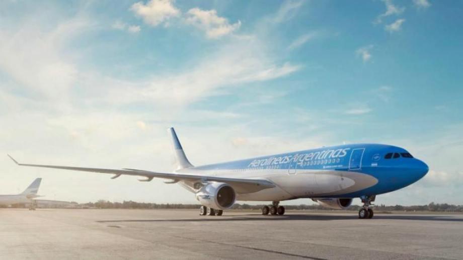 La actividad aeronáutica está suspendida por la crisis sanitaria.-