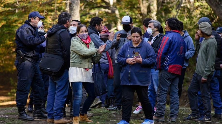 Integrantes de la comunidad mapuche Buenuleo fueron agredidos y el INAI busca una solución al conflicto. Archivo