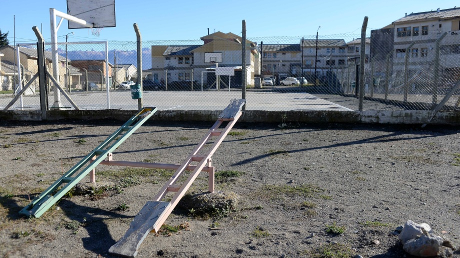 Bariloche eligió proponer para este financiamiento obras vinculadas a tres espacios públicos. Foto: Alfredo Leiva