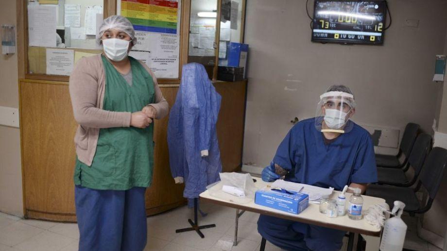 Los domingos el equipo de testos del hospital Ramón Carrillo se toma descanso Foto: Archivo.