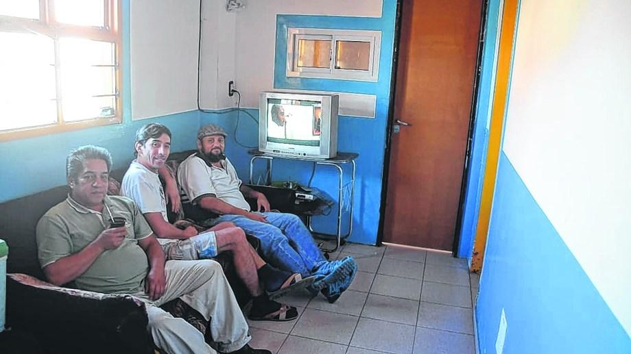 El refugio Cura Brochero es uno de los que presta alojamiento y contención. Foto Yamil Regules.
