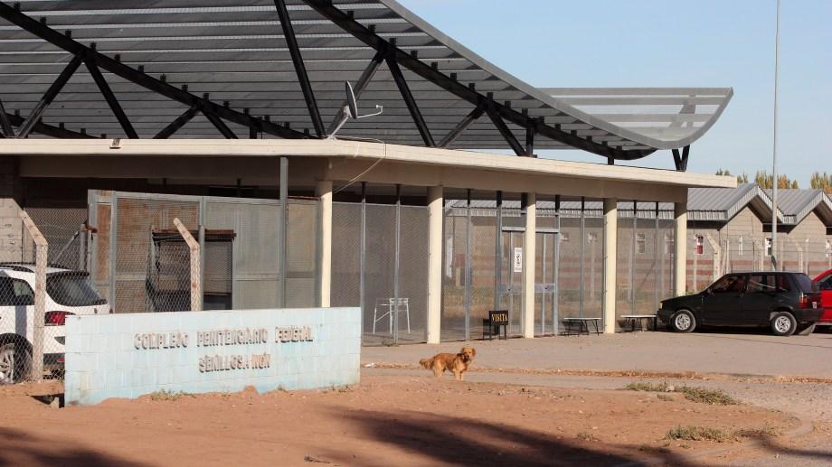 La Cárcel de Senillosa tiene 524 internos. Foto Oscar Livera