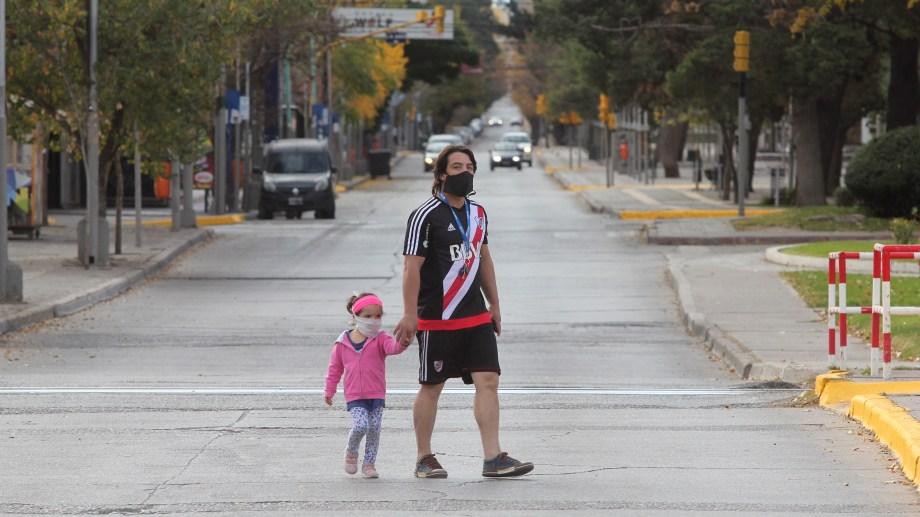 La avenida Argentina no tendrá más colectivos (foto Archivo)