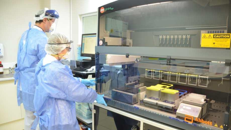 En Neuquén, el sistema de Salud realiza cuatro tipo de test de coronavirus distintos. Foto archivo Yamil Regules.