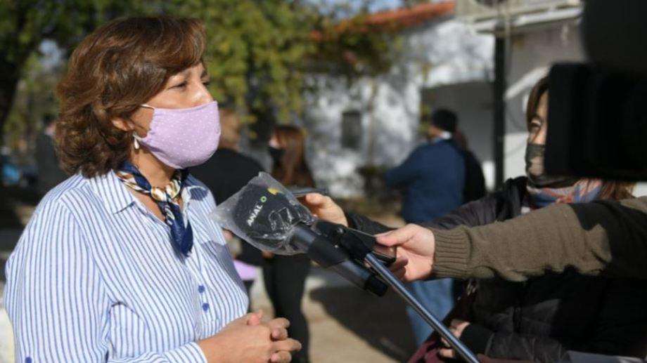 Arabela Carreras destacó la decisión de Nación sobre el barril criollo. Foto gentileza.