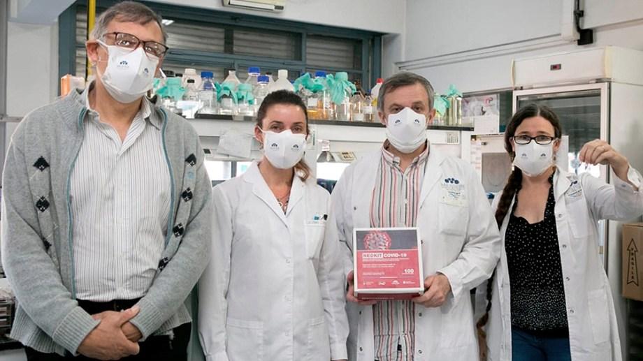 Un equipo de investigadores del Conicet desarrolló el Neokit. Foto: Télam