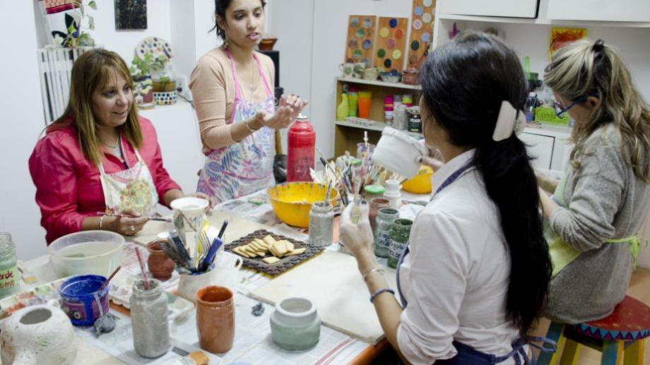 Las escuelas y talleres de arte no se encuentran incluidas en la flexibilización de la cuarentena. (Foto: archivo)