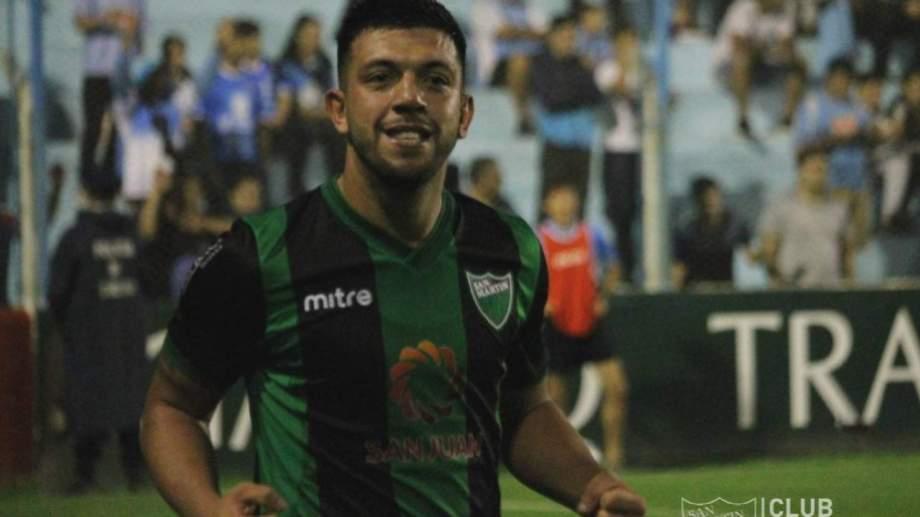 El defensor nacido en Cutral Co había llegado al club cuyano libre de Lanús.