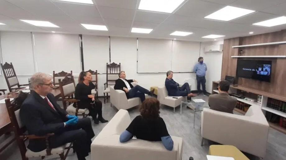 A comienzos de este mes hubo una videoconferencia entre los abogados y las autoridades judiciales. Foto: archivo.