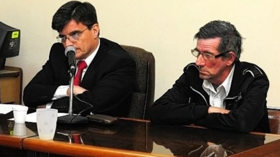 Néstor Ibars, condenado por  violación en Bahía Blanca, había accedido al beneficio de prisión domiciliaria pero tuvo que volver a la cárcel. Foto gentileza.