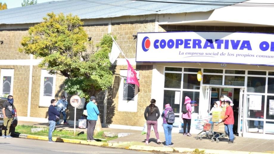 El supermercado tiene sucursales en Neuquén y Río Negro. (Archivo).-
