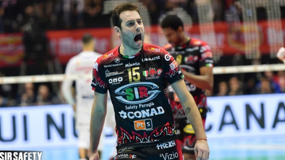 Luciano De Cecco es uno de los argentinos que juega en la liga italiana.