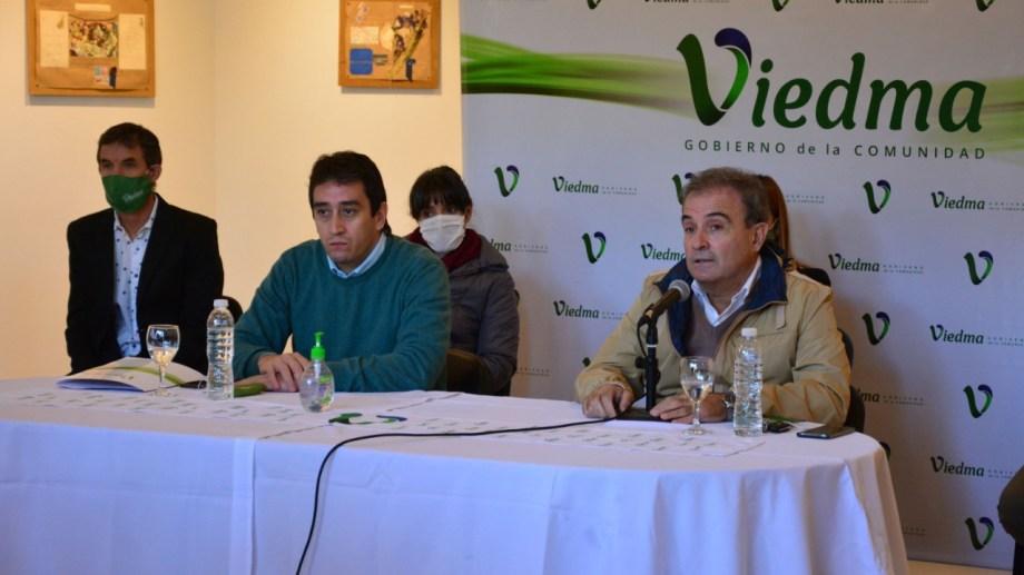 """Los clubes son """"instituciones centrales en la vida de la comunidad"""" dijo Pesatti. Foto: Marcelo Ochoa."""